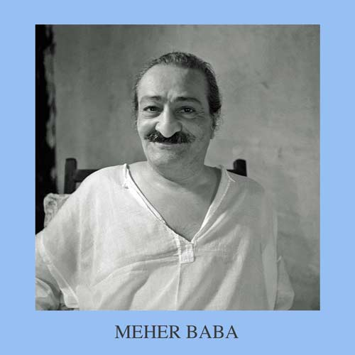 Meher Baba CD front cover